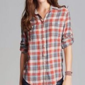 Jach's Girlfriend | Bea Flannel Button Down
